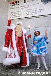 Дед мороз и снегурочка!!!