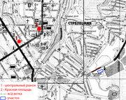 Продам земельный участок в центре г.Курска,  пл. 1,  62Га...