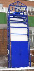 Грузовой подъёмник ТИТАН для продовольственного магазина