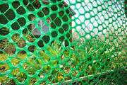 Сетка пластиковая садовая для забора,  заборчики