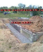сделать фундамент построить фундамент строительство фундамента монтаж