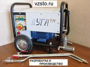 Установка для гидроизоляции жидкой резиной ДУГАтм И3/220