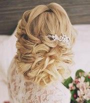 Свадебные,  вечерние прически,  плетения,  укладки